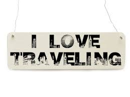 I love traveling